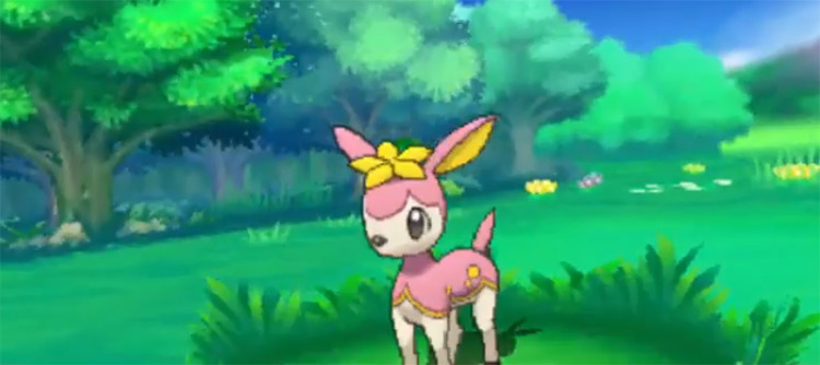 Deerling from Pokemon in-game
