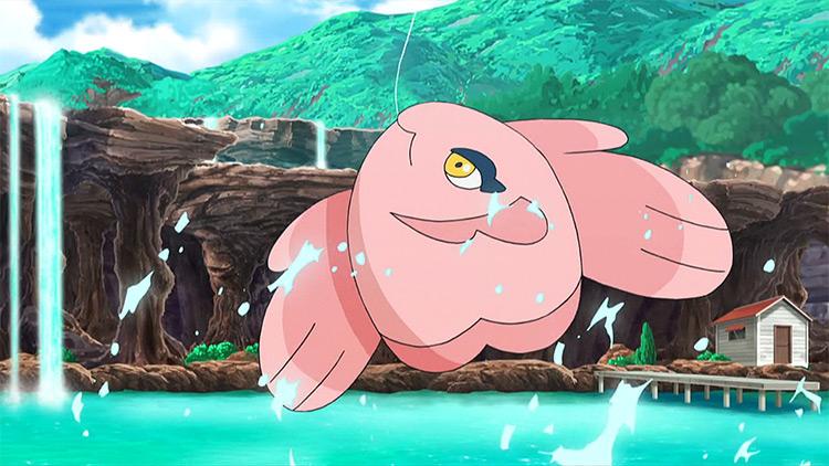 Alomomola Pokemon anime